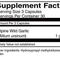 Supplement details for AIM Bear Paw Garlic