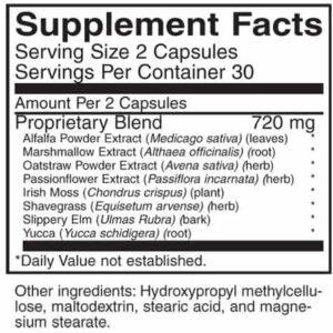 Supplement details for AIM Composure